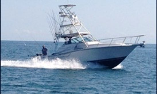 Fishing With A Winning Charter Team In Lake Ontario