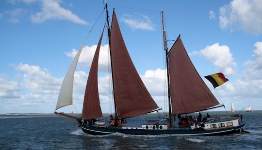 Charter On Noordvaarder In Harlingen