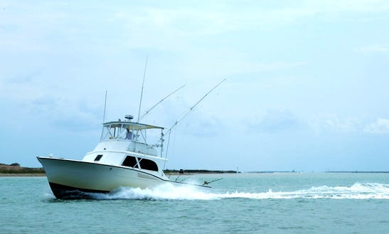 45' Sport Fishing Yacht Charter In Texas