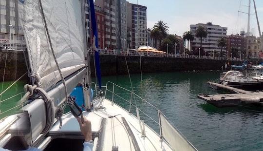 Denia 223 Sailboat Rental In Gijón