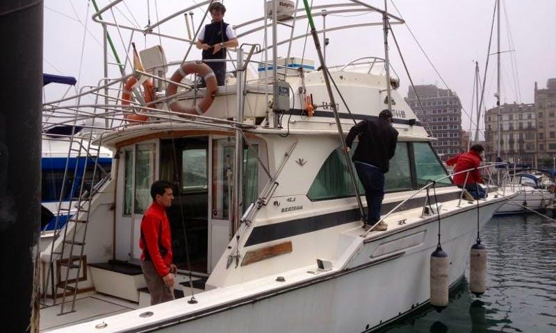 Bertram 46.5 Boat Rental in Gijón