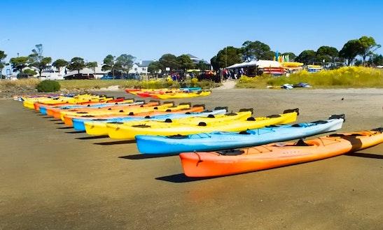 Single Kayak Rental In Half Moon Bay