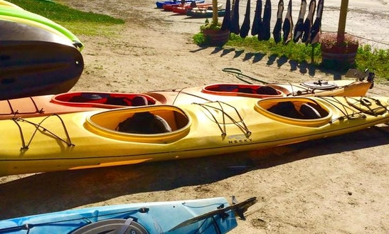 Double Kayak Rental In Half Moon Bay