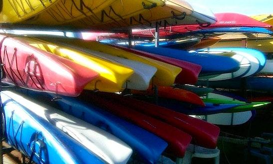 Triple Kayak Rental In Half Moon Bay