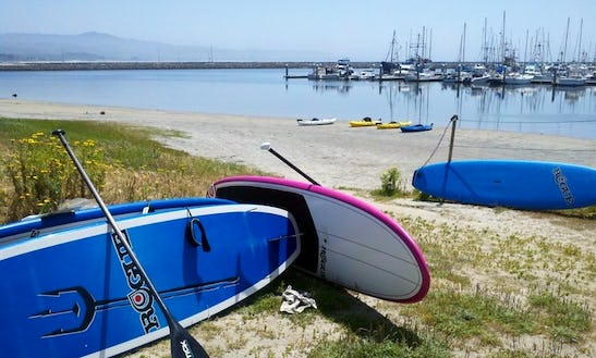 Stand Up Paddle Board Rental In Half Moon Bay
