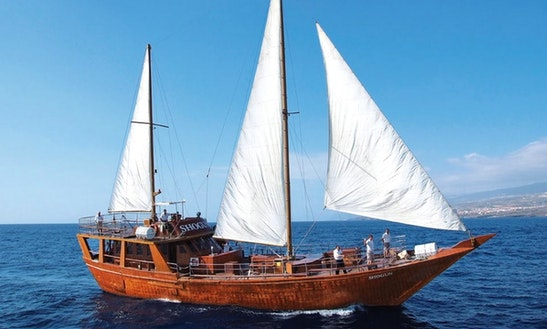 5 Hour Oriental Sailboat Excursion