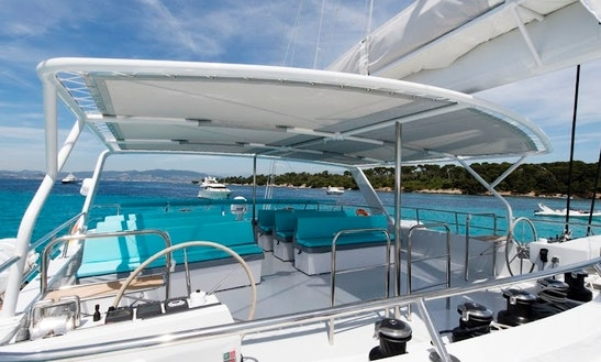66' Sailing Catamaran Yacht In Cannes