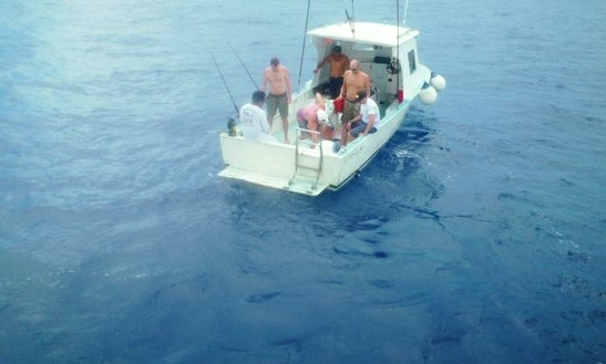 30ft Head Boat Charter In Cozumel, Mexico