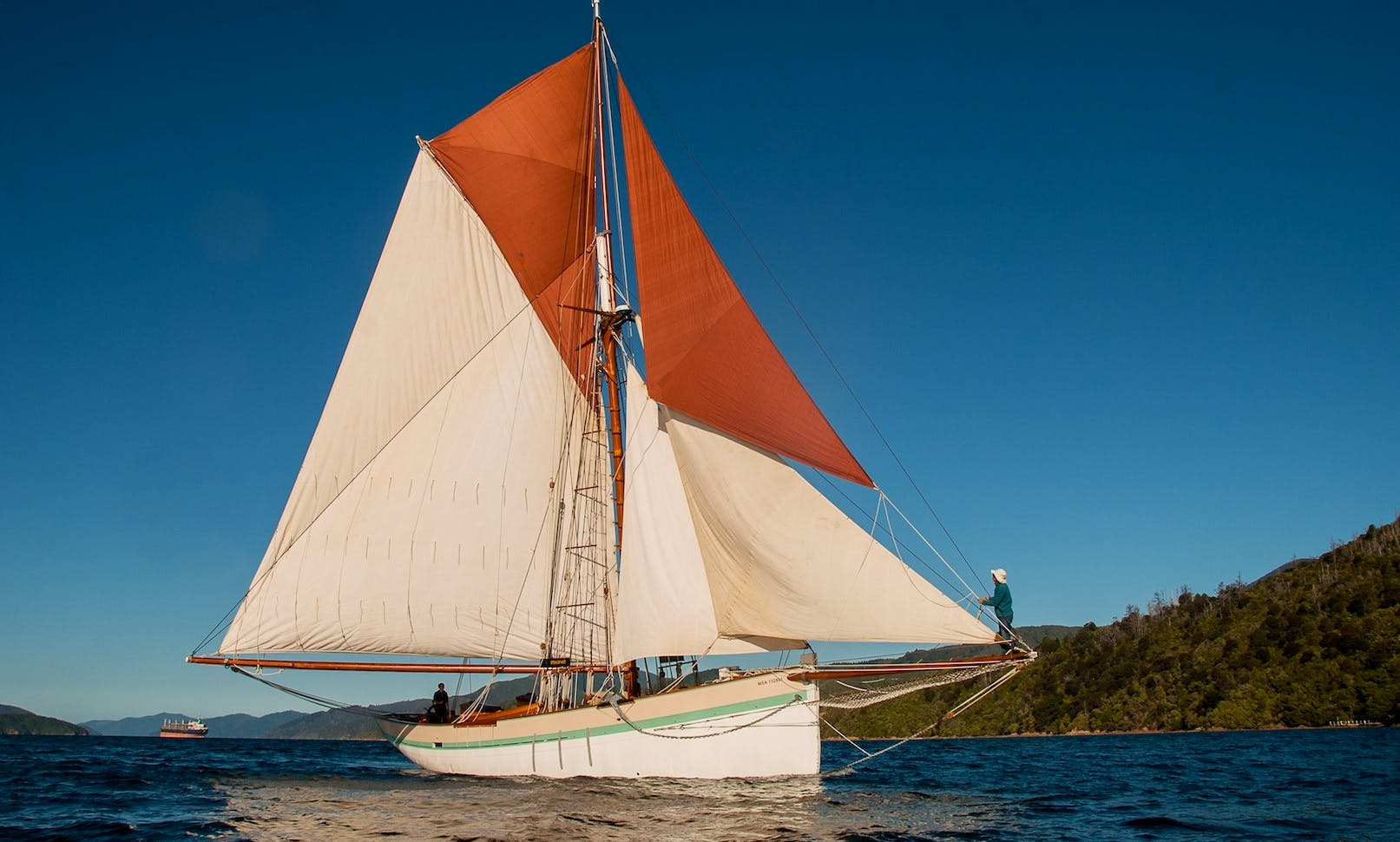 58' Traditional Sailing Charter in Picton, New Zealand
