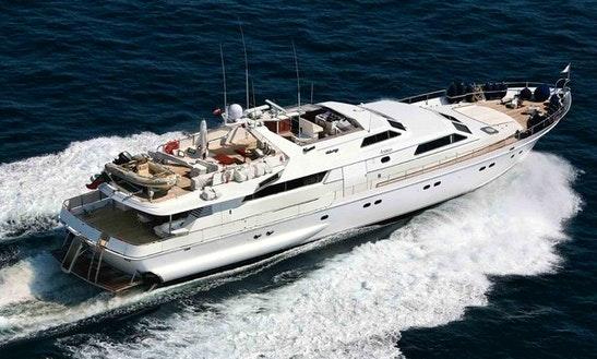 Charter 108' Alalunga Motor Yacht In Cannes