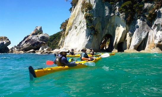 Freedom Kayaking In Marahau, Nz