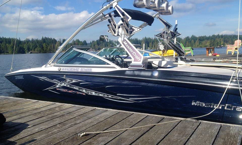 Master Craft Speed Boat In Shawnigan Lake