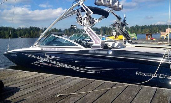 Master Craft Speed Boat In Shawnigan Lake