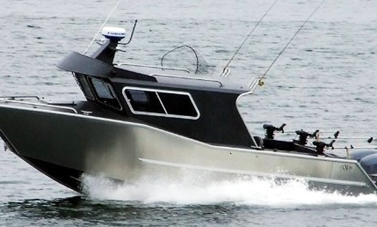 28' Guided Fishing Boat In Comox