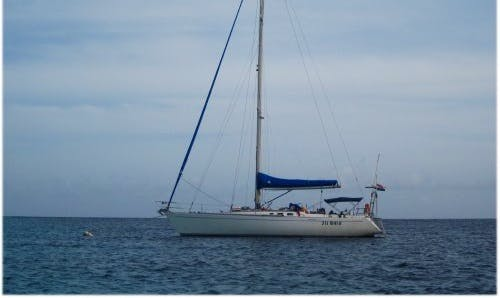 "Charter 40ft ""Baruffa"" Cruising Monohull In Portobelo, Panama"