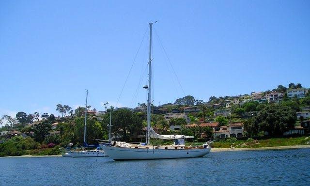 "Sailing Charter On 45ft ""Delfin Solo"" Sloop In Portobelo, Panama"