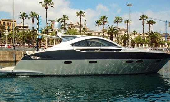 Luxurious Prinz 54 Coupe Motor Yacht Charter In Spain