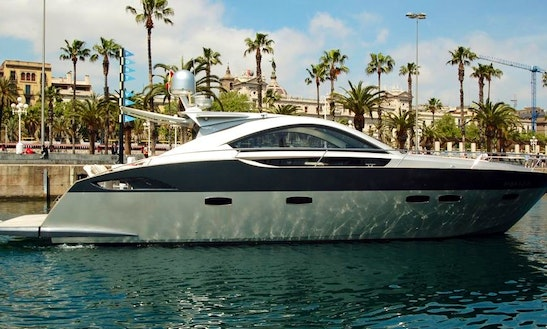 Luxurious ''prinz 54 Coupe'' Motor Yacht Charter In Spain