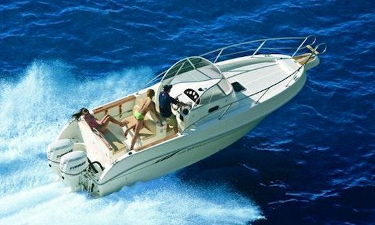 ''capelli 27'' Luxury Cuddy Cabin Charter In Spain