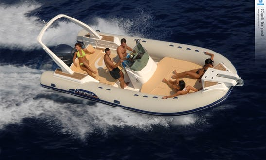 Capelli Tempest 690 Inflatable Boat In Spain