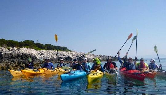 Kayak Tours In Argostoli
