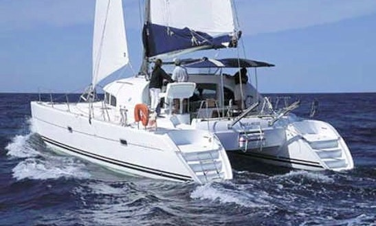 Lagoon 380 Cruising Catamaran Boat Charter In Ibiza, Spain
