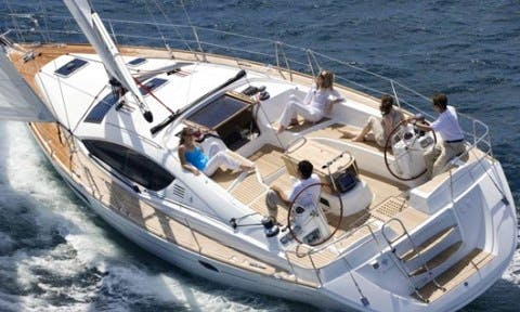 Jeanneau Sun Odyssey 45 Cruising Monohull Boat Charter in Ibiza, Spain