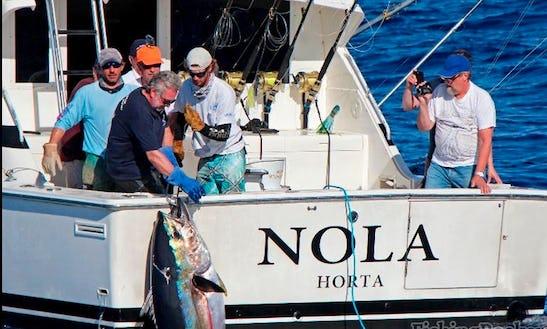 ''nola 37'' Sport Fisherman Charter In Portugal