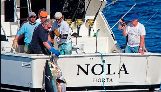 ''nola 37'' Sport Fisherman Charter In Portugal