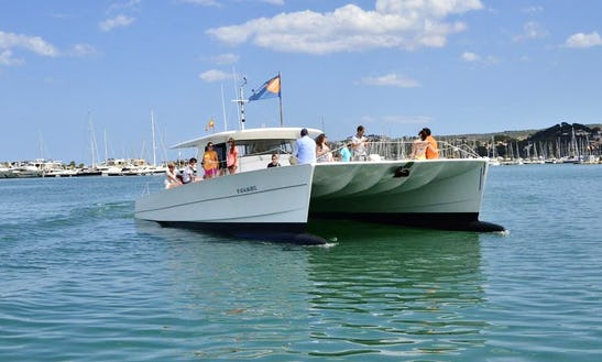 Luxurious Cruising Catamaran Charter In Spain