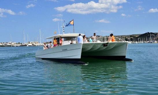 Luxurious Cruising Catamaran Charter In Spain