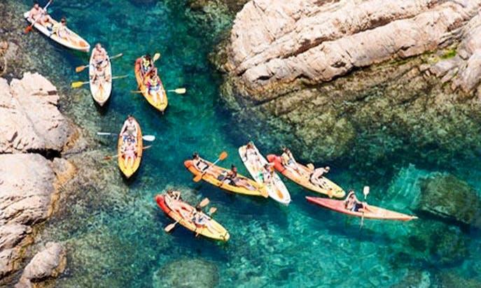 Costa Brava - Kayaking & Snorkeling Tour