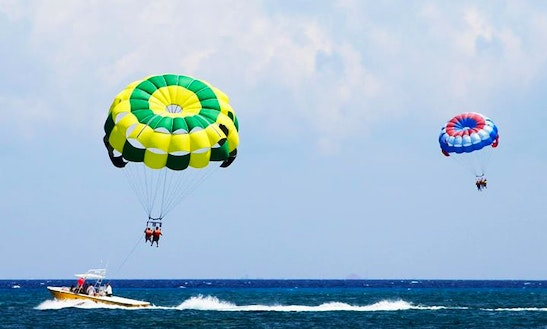 Parasailing Ride In Cozumel