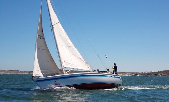 Charter 34' Cruising Monohull From South Africa