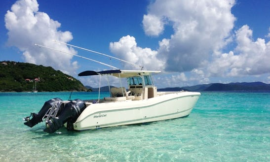 Luxury ''louly Iii'' Center Console Charter In U.s. Virgin Islands