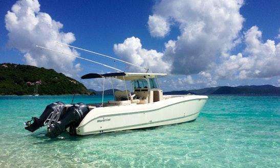 Luxury ''louly Iii''center Console Charter In U.s. Virgin Islands