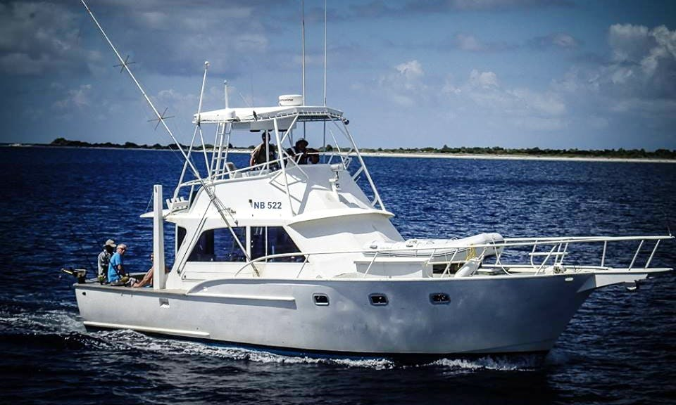 44' Fishing Yacht Charter In Bonaire