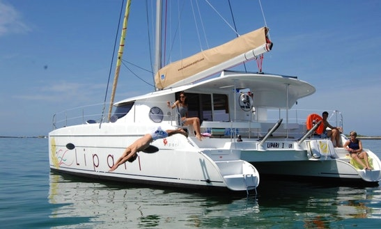 Charter Lipari 41 Evolution Sailing Catamaran From Propriano, Corsica