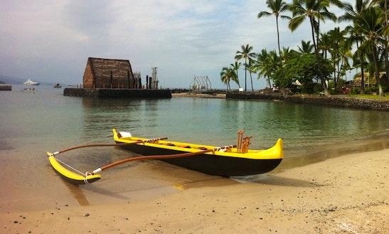 Outrigger Canoe Rides In Kealakekua