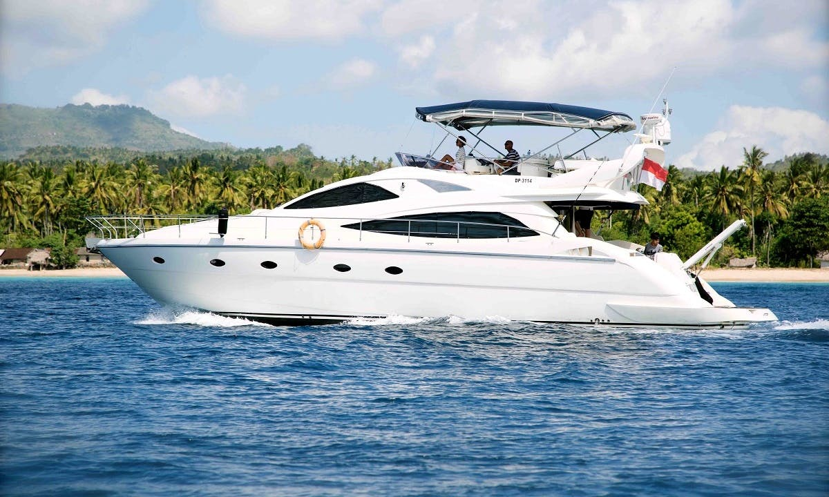 Captained Charter on 56' ''Burjuman'' Power Mega Yacht In Denpasar Bali, Indonesia