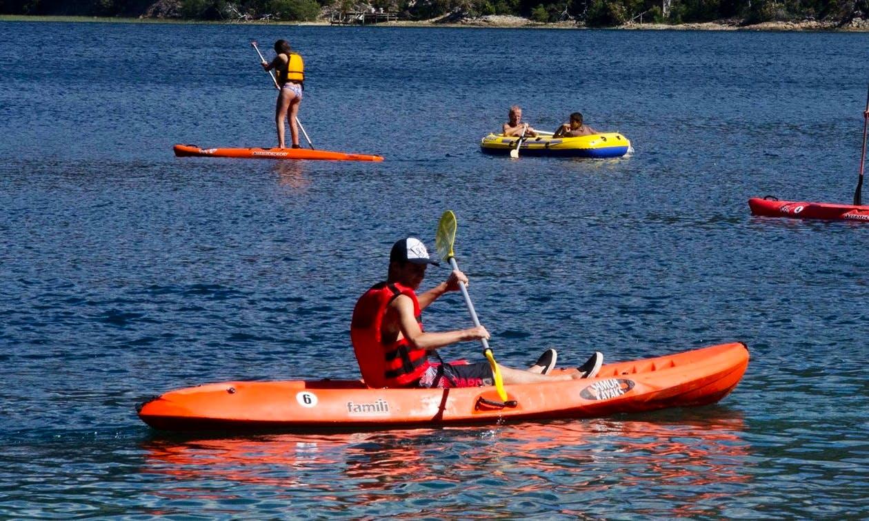 Single-Kayak Rental & Trips in Villa Rosa, Argentina
