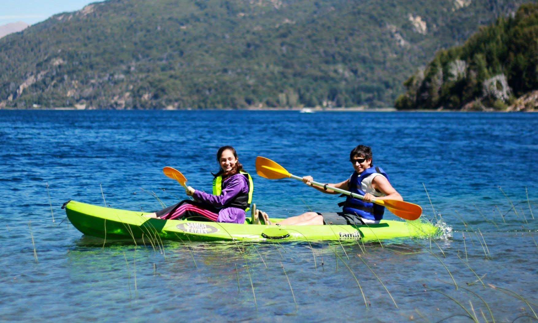 Double-Kayak Rental & Trips in Villa Rosa, Argentina