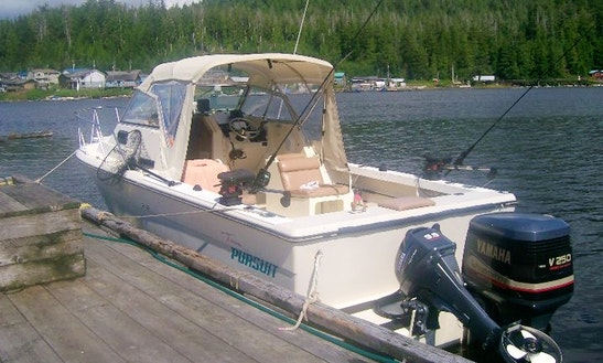 Guided Fishing Boat In Kyuquot