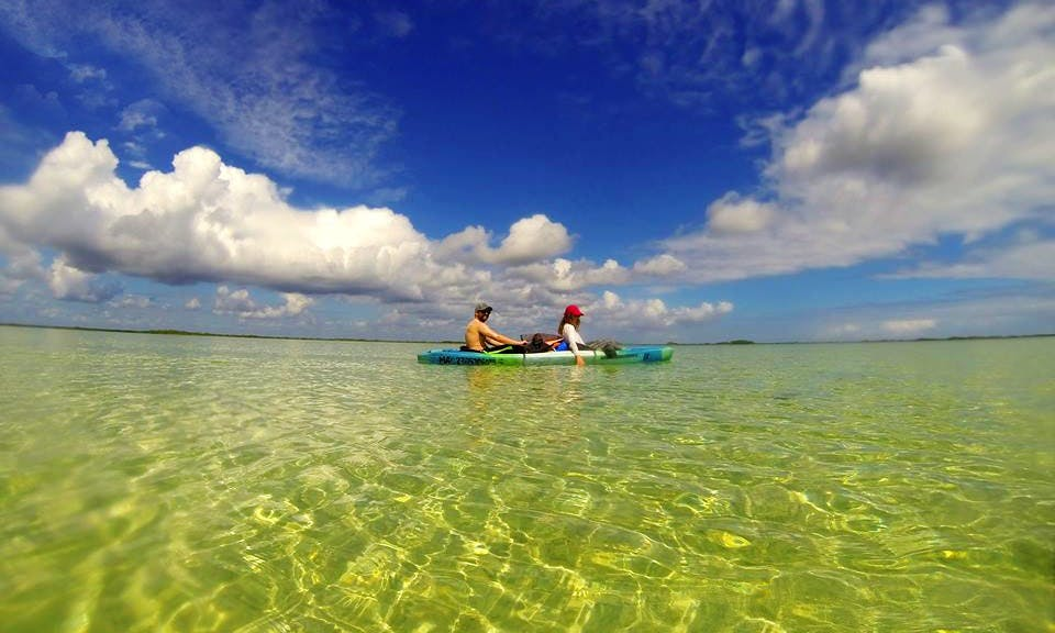 Tandem Kayak Tour In Tulum
