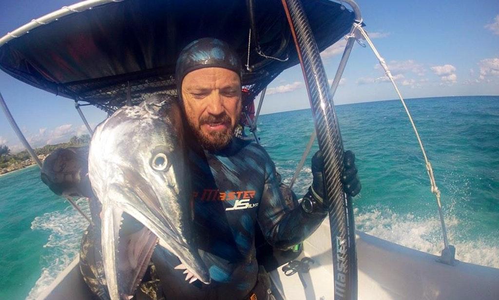 30 39 center console charter in playa del carmen mexico for Playa del carmen fishing charters