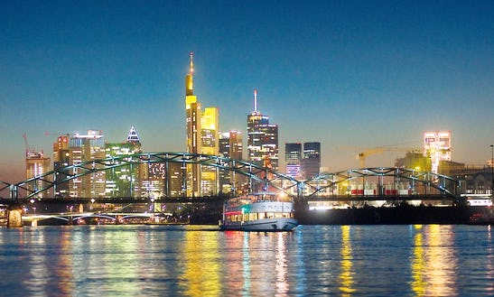 Frankfurt Sightseeing On 130 People Elegant Cruiser