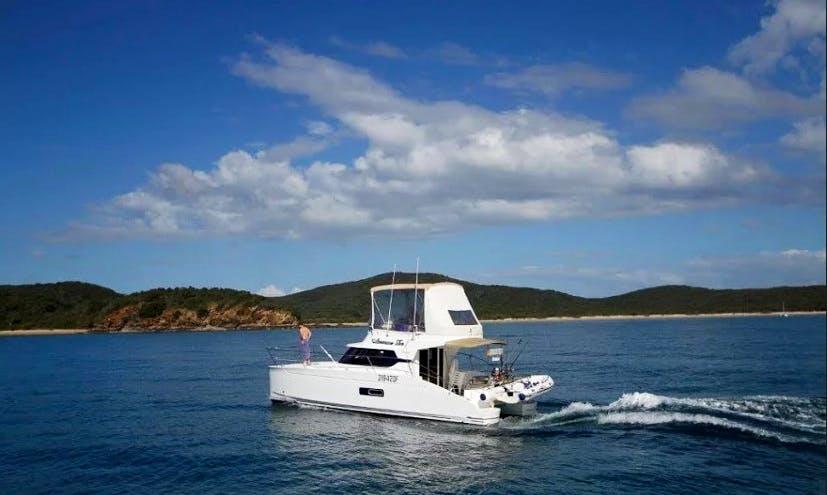 37' Power Catamaran Charter In Rosslyn