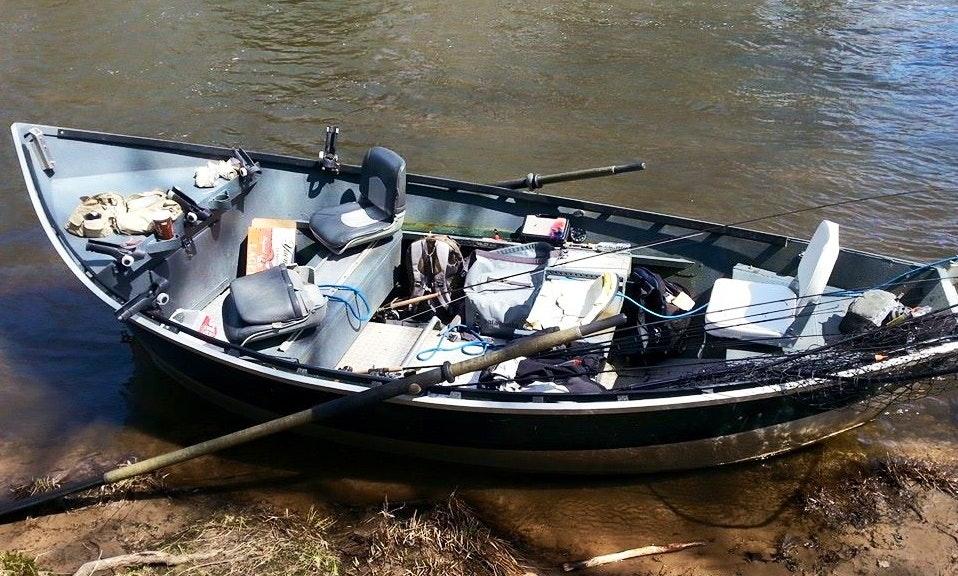 a Smoker Craft Drift Boat