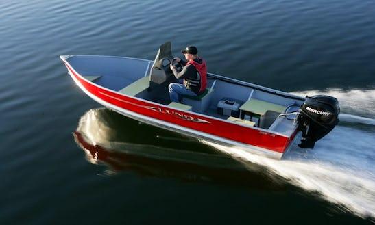 18' Lund Boat Rental In Canada
