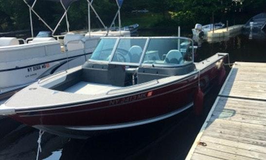 Rent 19' Alumacraft Boat In Eagle Bay